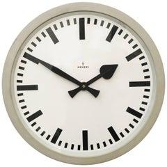Huge Siemens Factory, Station or Workshop Wall Clock