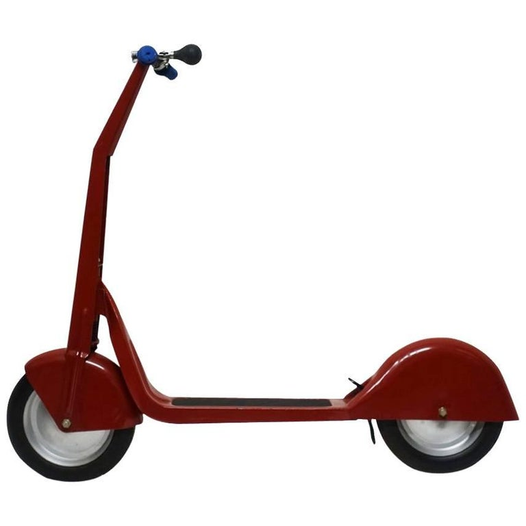 Mid-Century Vintage Child's Scooter For Sale