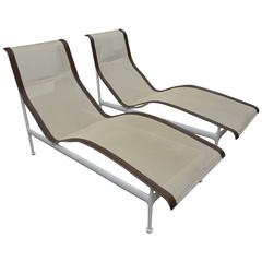 Pair of Richard Schultz Contour Lounge Chairs
