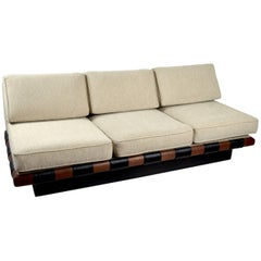 Pearsall for Craft Associates Three-Seat Bench Sofa
