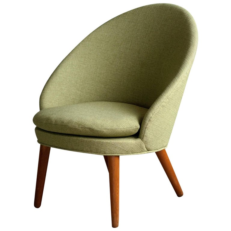 Ejvind A. Johansson Model 301 Danish Easy Chair for Gotfred H. Petersen