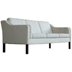 Børge Mogensen Style Three-Seat Sofa Model 2423 by Mogens Hansen