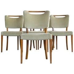 Six Mid-Century Danish Dining Chairs
