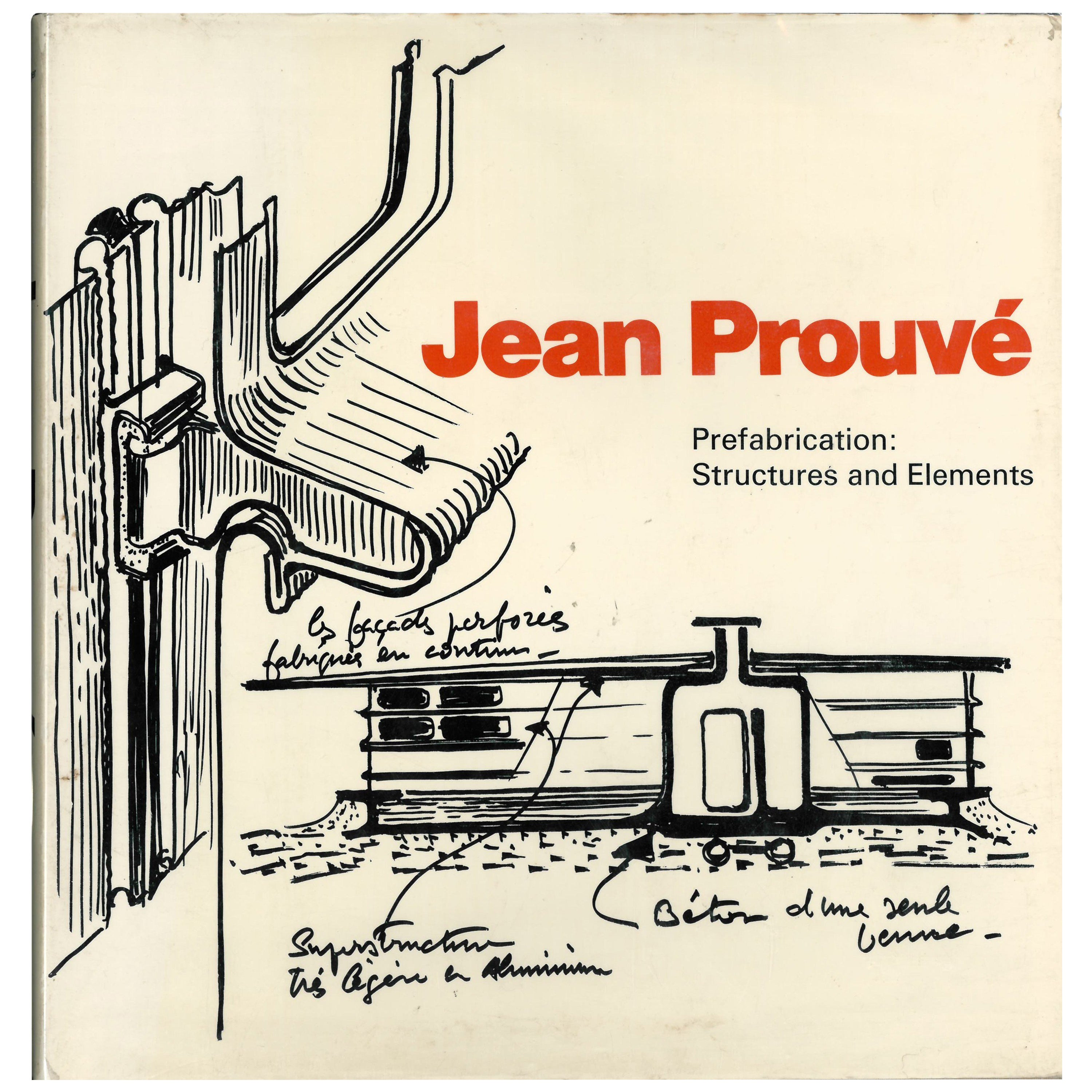 Jean Prouve Prefabrication Structures And Elements Book For Sale At