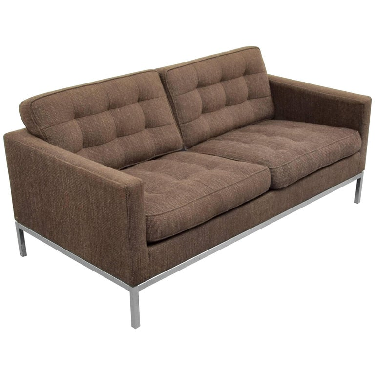Florence Knoll Sofa Loveseat For Sale At 1stdibs