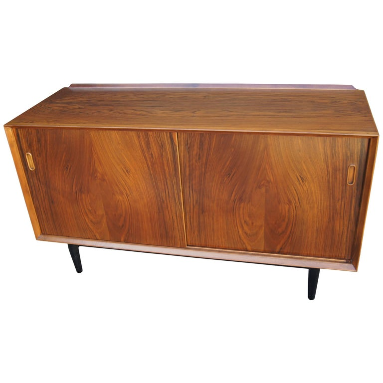 Arne Vodder for George Tanier, Small Rosewood Credenza