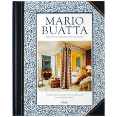 """Mario Buatta: Fifty Years of American Interior Decoration"" Book, Signed 1st ED"