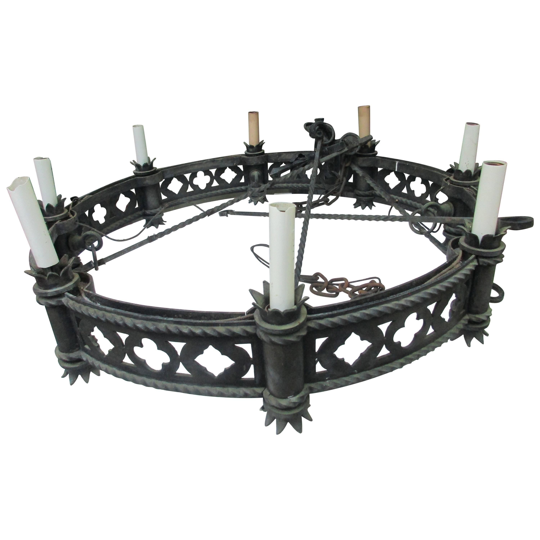 Bronze Gothic Impressive Chandelier