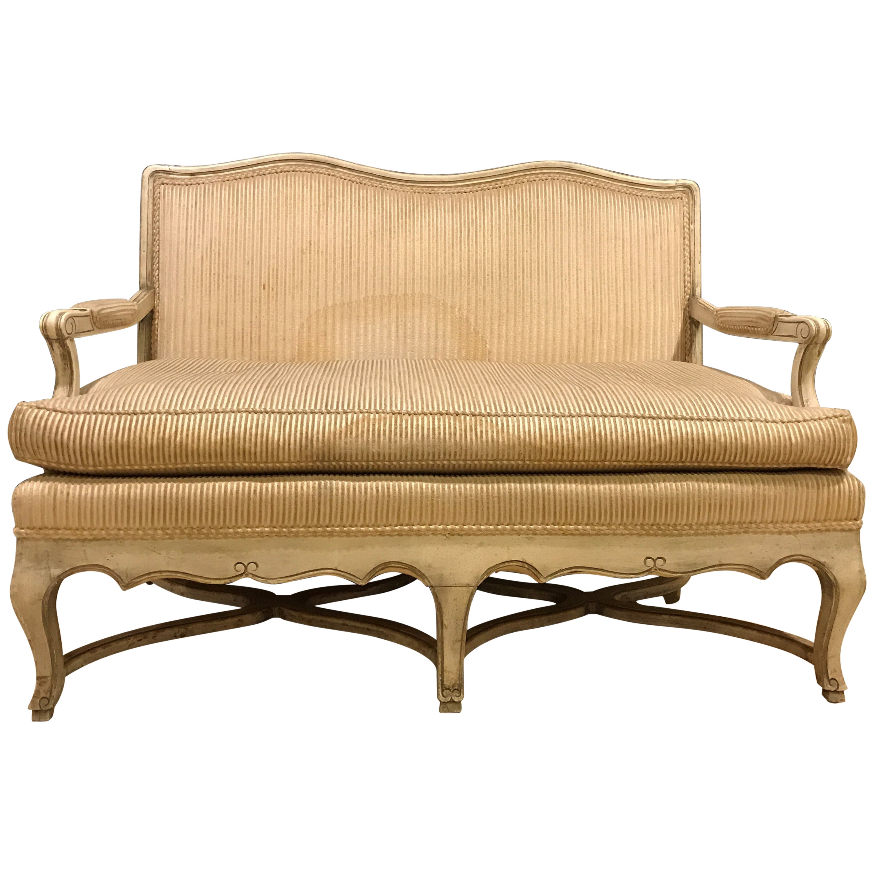 product paul liberty to pretzel sofa loveseat attributed bamboo frankl