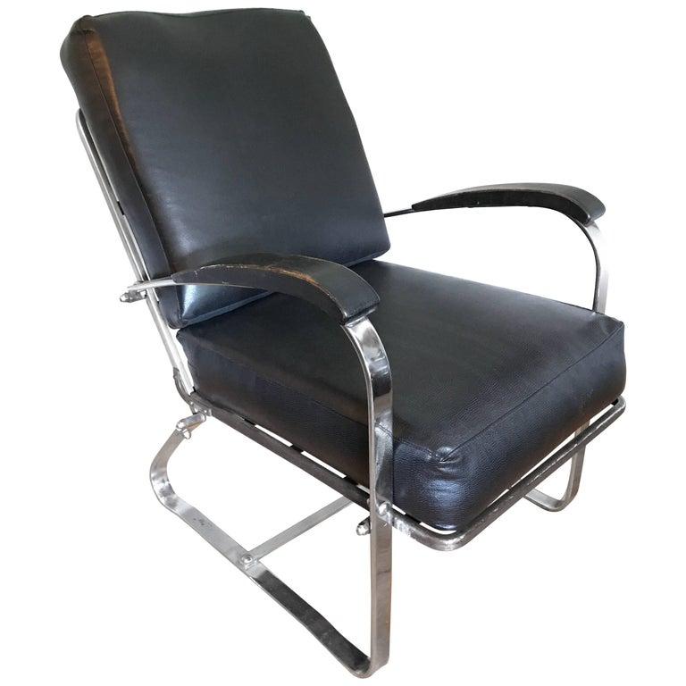 Art Deco Machine Age Chair by McKay