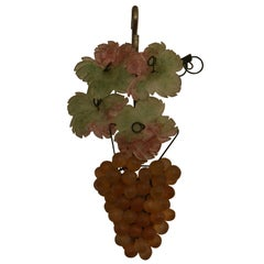 Venetian Glass Colored Grape Light