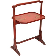Folding Chinoiserie Tray Table