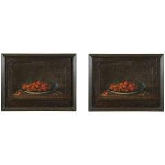 17th Century Pair of European Still Life Paintings