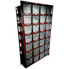 Storage Locker Unit of Swim Gym Baskets