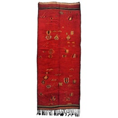 Red Moroccan Runner