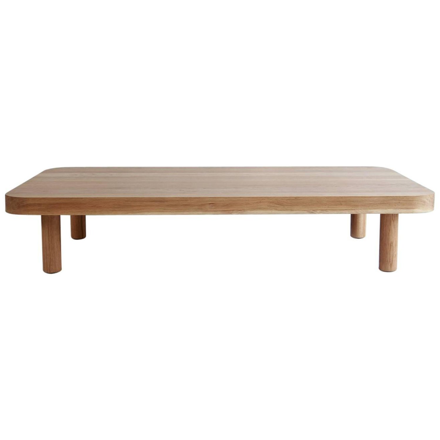 Nickey Kehoe Collection Rectangular Radius Coffee Table For Sale