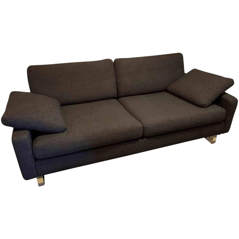 sofa conseta by manufacturer cor finished in fabric metal and wood for sale at 1stdibs. Black Bedroom Furniture Sets. Home Design Ideas