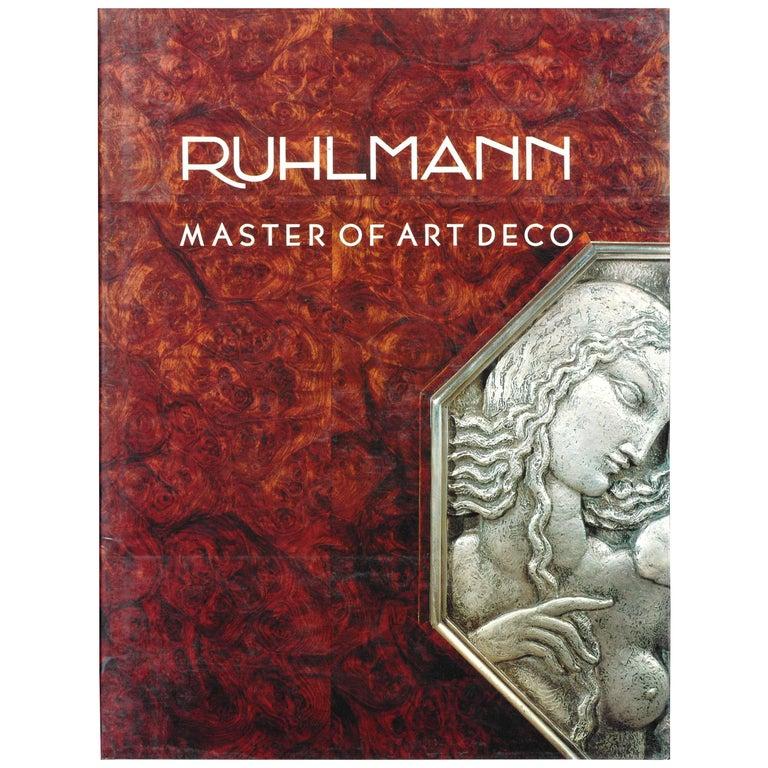"""RUHLMANN - Master of Art Deco"" Book"
