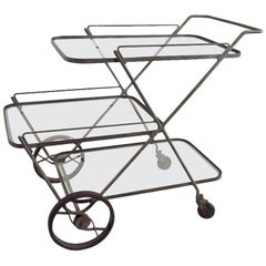 Tempestini for Salterini Serving Bar Cart