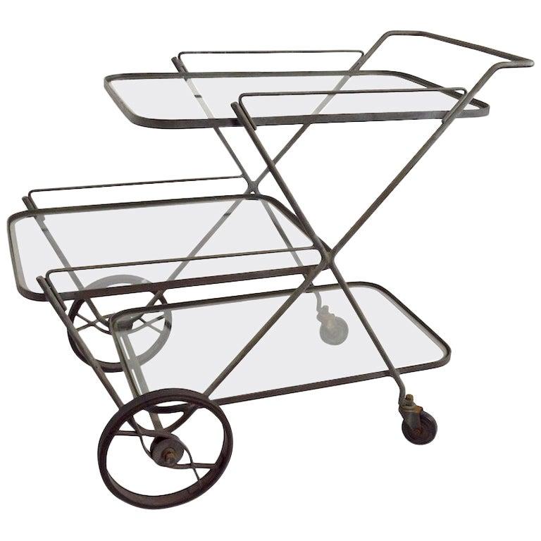 Tempestini for Salterini Serving Bar Cart