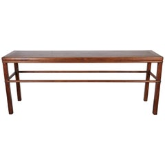 Classic Antique Walnut Console Table