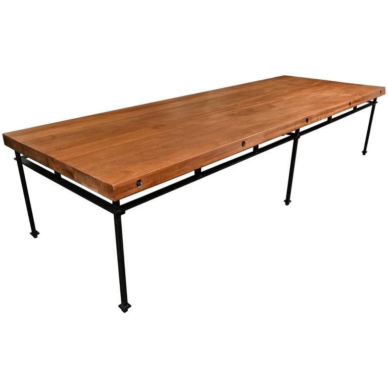 French Refectory Table For Sale
