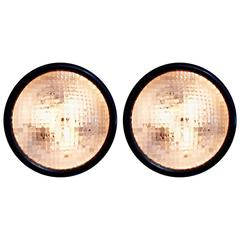 Pair of Stilnovo Wall/Ceiling Lamps, 1960s