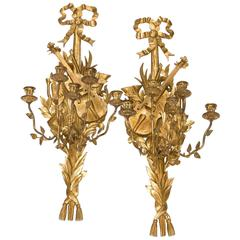 Vintage Pair of Wall Sconces