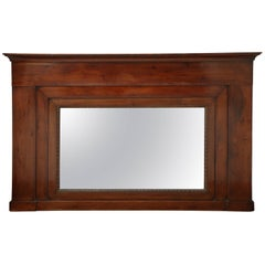 Early 19th Century French, Fruitwood Mirror