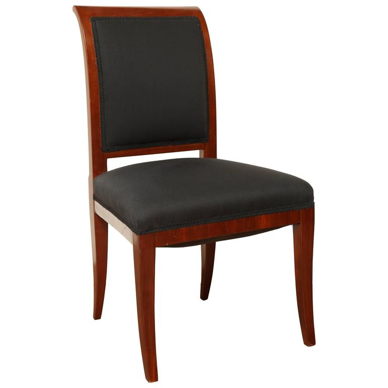 Early 19th Century Northern European, Mahogany Side Chair For Sale