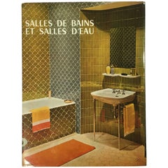 Art Deco Schumacher Donald Deskey Radio City Interior Design Folio Wonderful Book On Bathroom Interiors 1965
