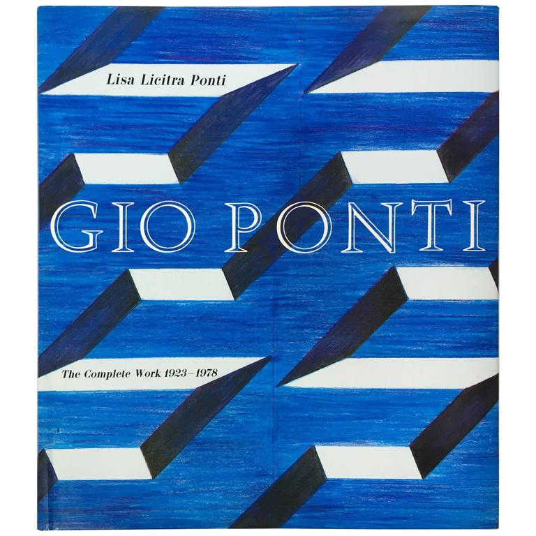 """Gio Ponti The Complete Work 1923-1978"" First Edition Book, 1990 For Sale"