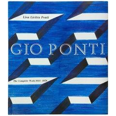 """""""Gio Ponti das Gesamtwerk 1923-1978"""" Erstausgabe Buch, 1990"""