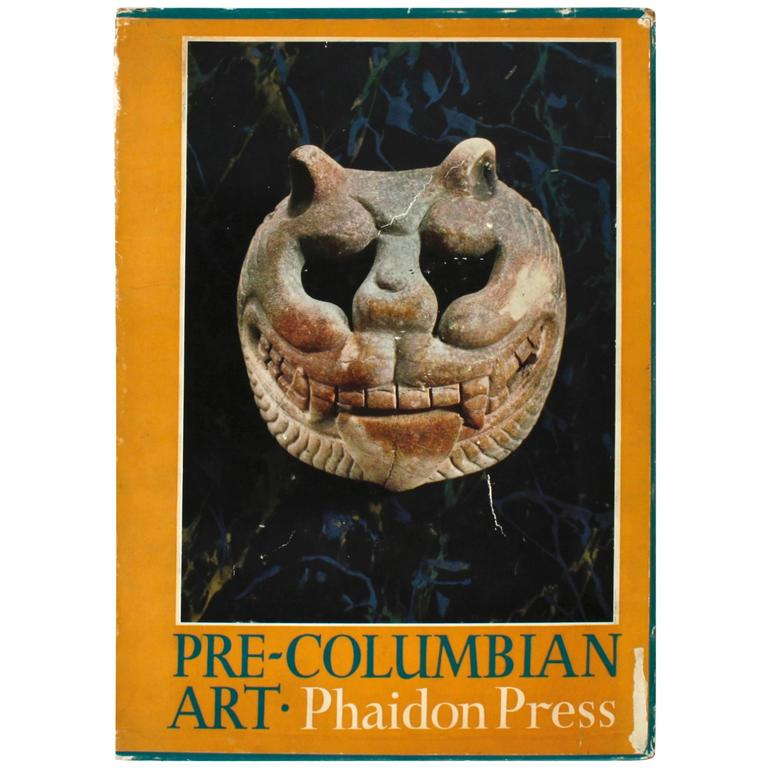 """Pre-Columbian Art"" Book, First Edition For Sale"