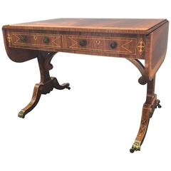 Exceptional Regency Style Console Writing Desk
