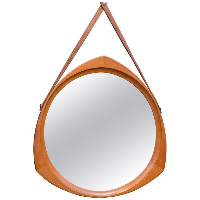 Scandinavian Wall Mirror For Sale