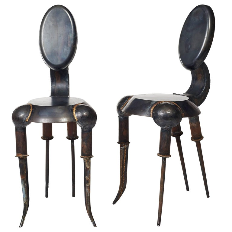 "Pair of Tom Dixon ""Kitchen"", Designed 1989 For Sale"