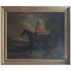 Early 19th Century, British School, Soldier on Horse