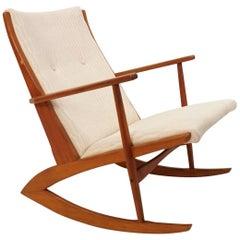 Model 97 Rocking Chair by Holger Georg Jensen for Tønder Møbelværk