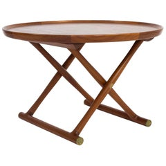 Mogens Lassen, Egyptian Table in Teak, A.J. Iversen