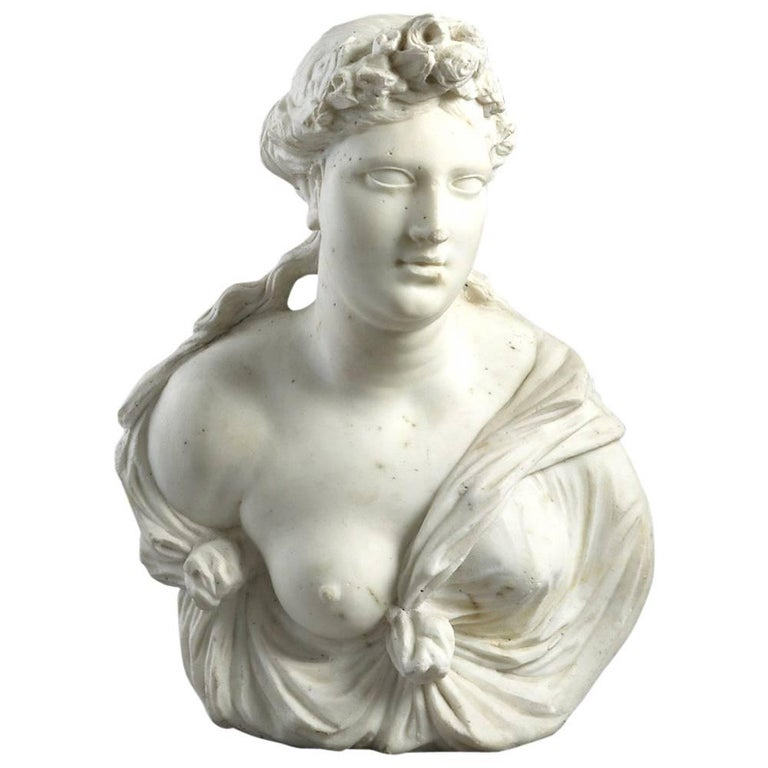 Marble Bust of Flora
