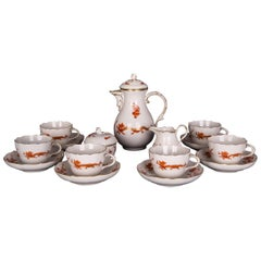 Beautiful Meissen Coffee Service with Dragon 1st Choice
