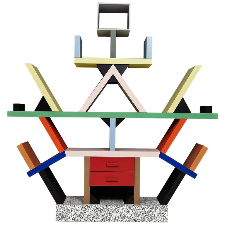 Number 3 of Limited Edition Carlton, by Ettore Sottsass for Memphis Milano