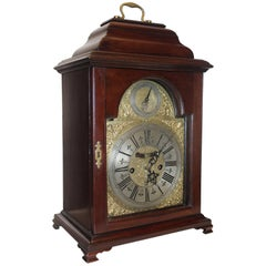 Early 18th Century Irish Mahogany Bracket Clock