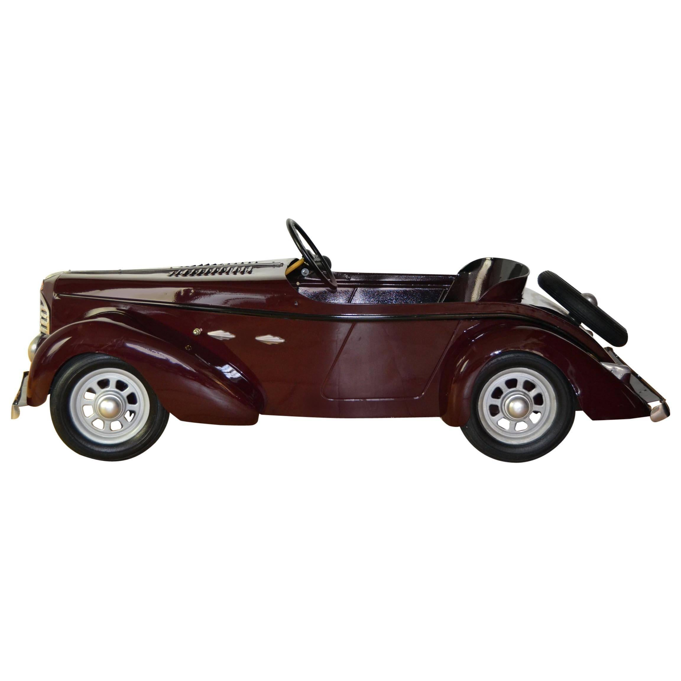 Vintage Soviet Horse Tricycle Pedal Car For Sale at 1stdibs