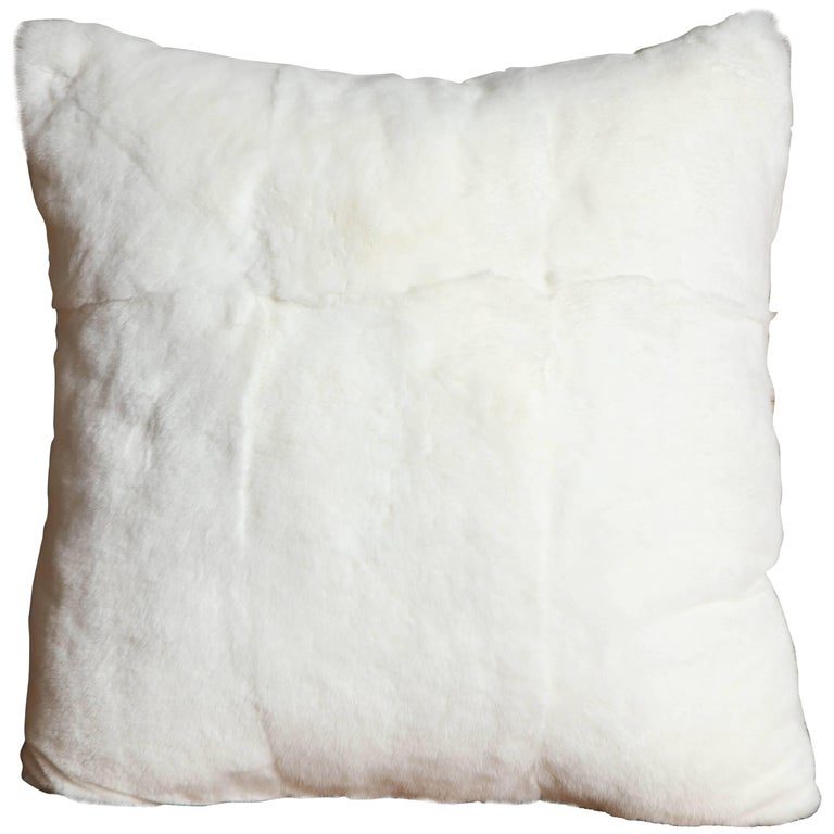 Custom White Rabbit Pillow For Sale