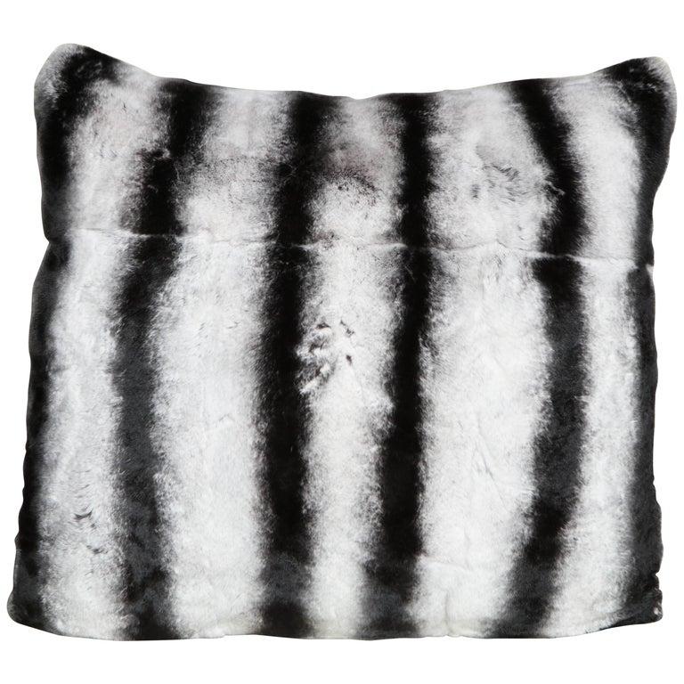 Custom Rex Rabbit Pillow