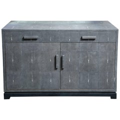 Custom Genuine Shagreen Sideboard