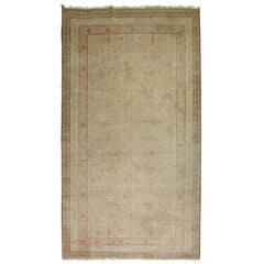 Shabby Chic Distressed Gallery Size Khotan Carpet