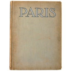 Paris, Photographs by Mario V. Bucovich, First Edition Book
